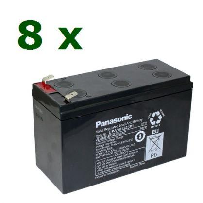 Elmag.bg-baterii-Panasonic KIT30-1 Panasonic 12V 9Ah 8бр