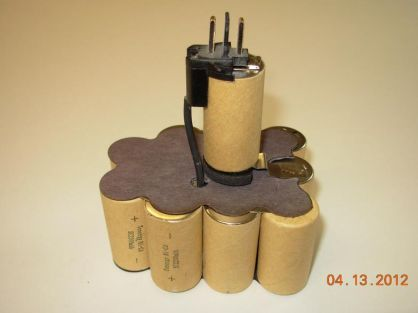 9.6V 2100mAh пакет батерия за винтоверт