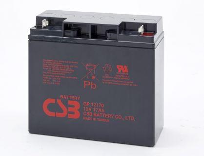 Elmag.bg KIT11 battery CSB 4pcs CSB-GP12170 - 12V  17Ah