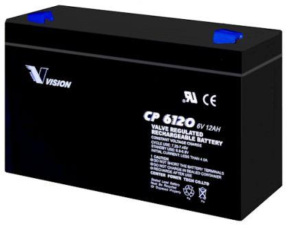 VISION 6V 12Ah / CP6120