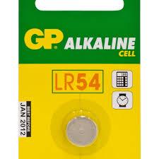 GP LR54 /LR1133; AG10/ - 1.5V / 68 mAh