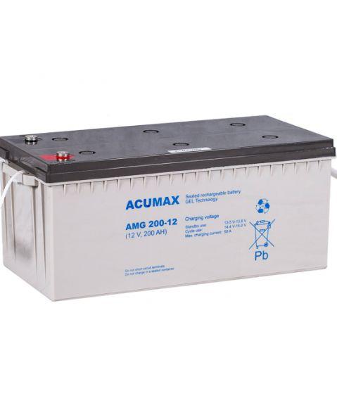Accumax AMG 125-12 - 12V 125Ah GEL