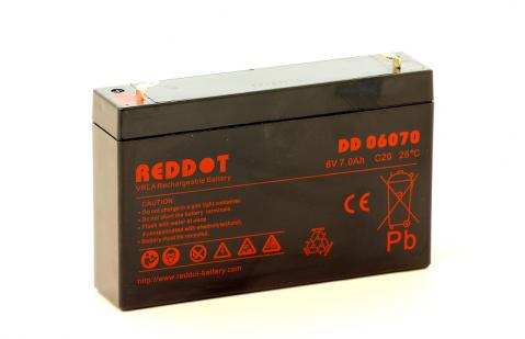 Reddot DD06070 6V 7Ah