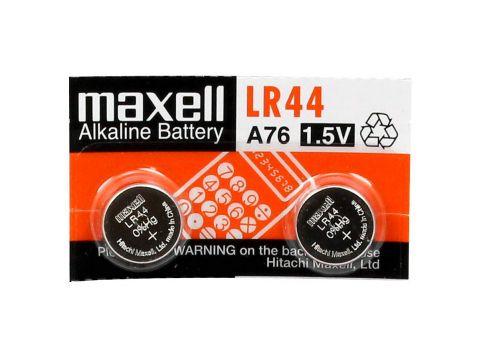 Maxell L-R44 /LR-1154; AG13/ - 1.5V / 150 mAh