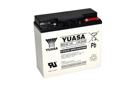 Yuasa REC22-12I - 12V 20Ah Cycle