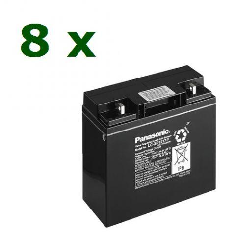 Elmag.bg baterii Panasonic-LC-XD1217PG-12V/17Ah kit 8pcs