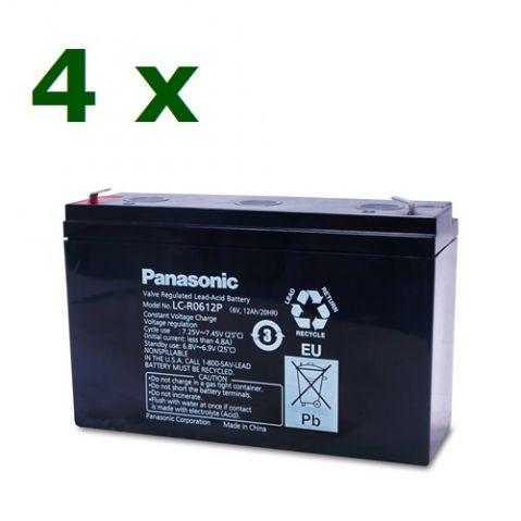 KIT26 CSB (4 х Panasonic - 12V /  12Ah  )