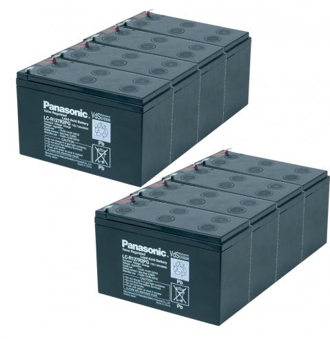 "Батерии ""KIT12-2"" Panasonic 12V 7.2Ah 8бр"
