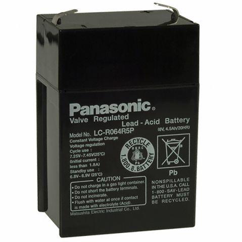 Panasonic  6V 4.5Ah / LC-R064R5P