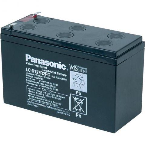 Panasonic LC-R127R2PG 12V 7.2Ah F1