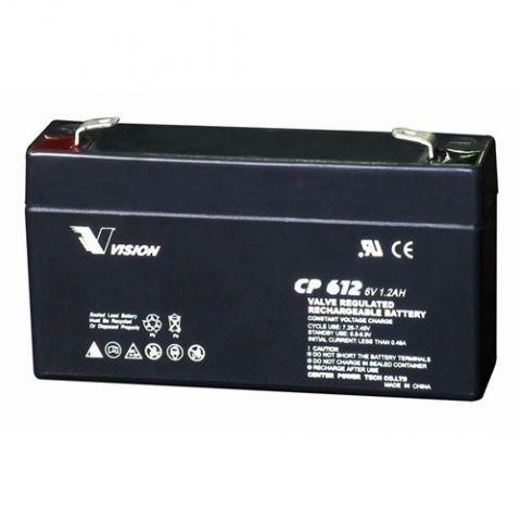 VISION 6V 1.3Ah / CP612